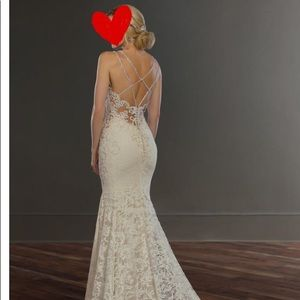 Wedding dress Martina Liana ,new just used once.